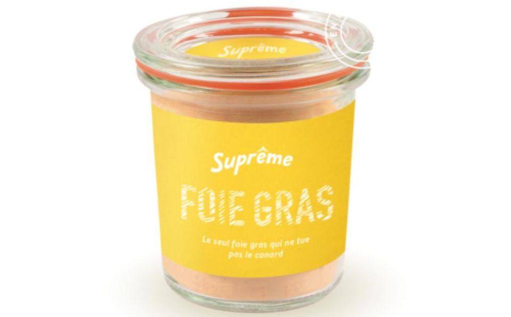 O foie gras da Suprême deve começar a ser vendido em meados de 2022 ou 2023, dependendo do aval das agências reguladoras francesas. Foto: Divulgação