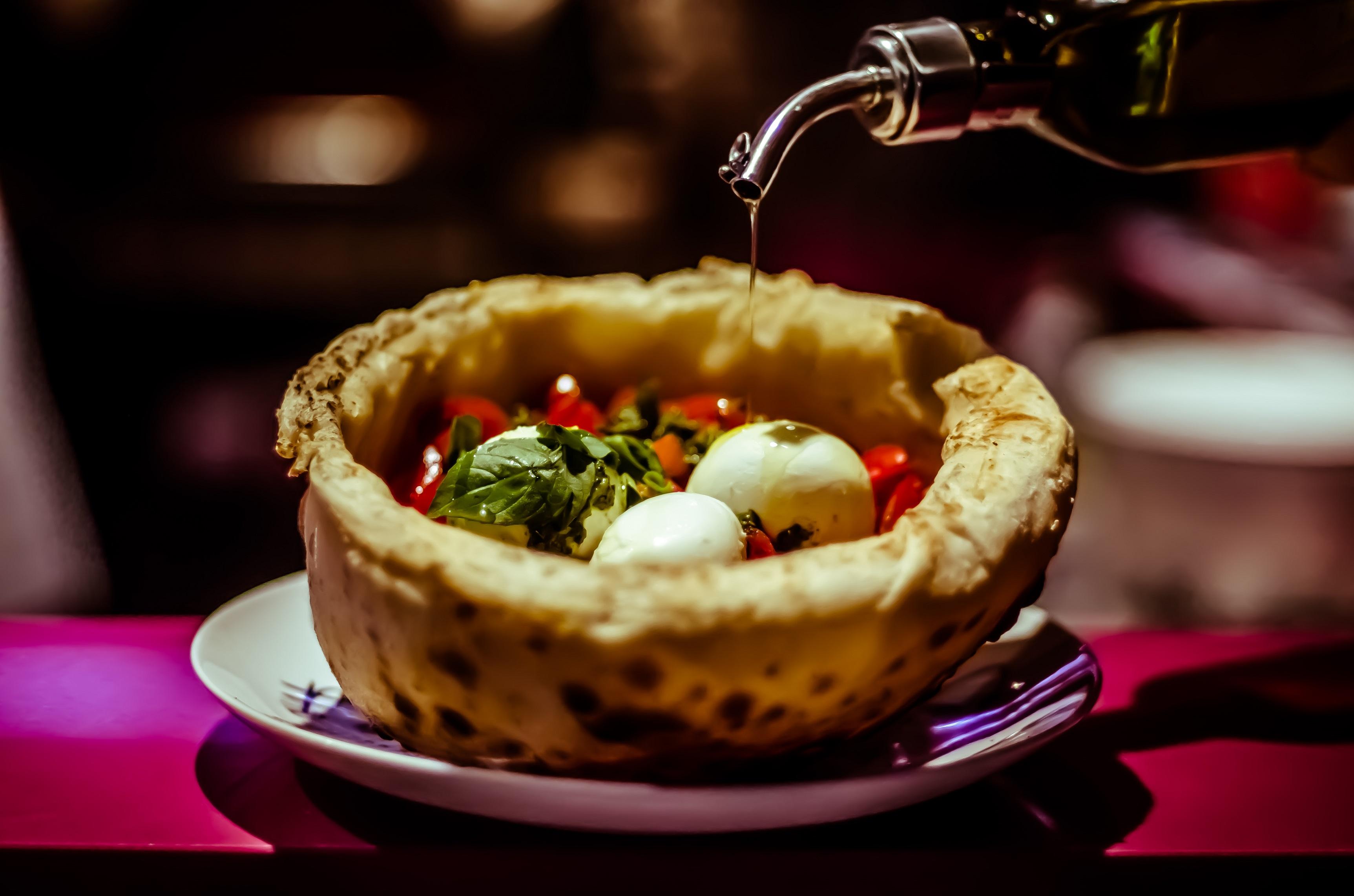 Prato do Amore Cucina, do FRESH Live Market. Foto: divulgação.