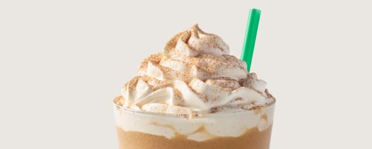 Pumpkin Spice da Starbucks, preparado frio. Foto: Divulgação