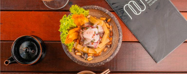 Peruvian Classic, ceviche do Nuu Nikkei. Foto: Divulgação.