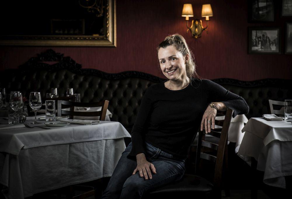 Fanie Delatte, restauratrice do L'Épicerie. Foto: Letícia Akemi/Gazeta do Povo.
