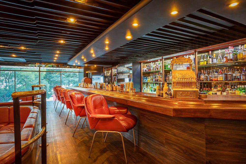 O balcão do Frank Bar. Foto: Divulgação