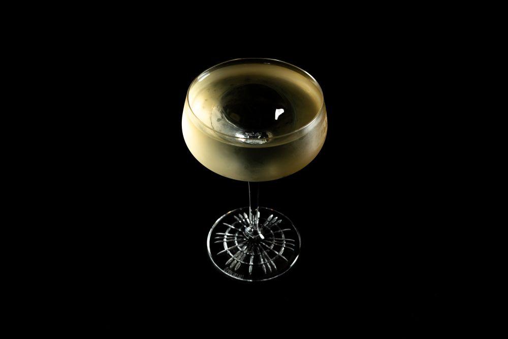 G Spot Martini, drink do Guilhotina Bar. Foto: Rubens Kato/Divulgação
