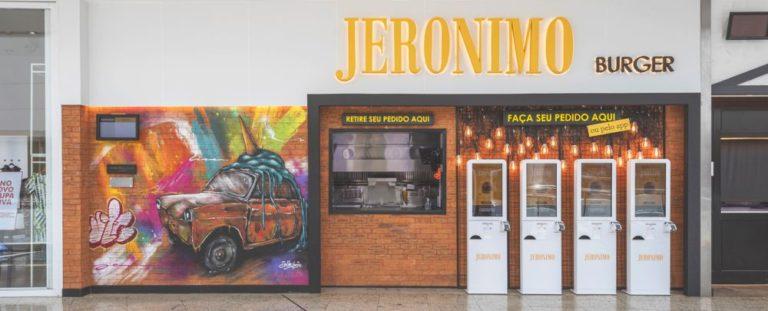 Novo Jerônimo no Shopping Palladium, onde antes funcionada o Dundee Burgers. Foto: Fernando Zequinão/Gazeta do Povo.