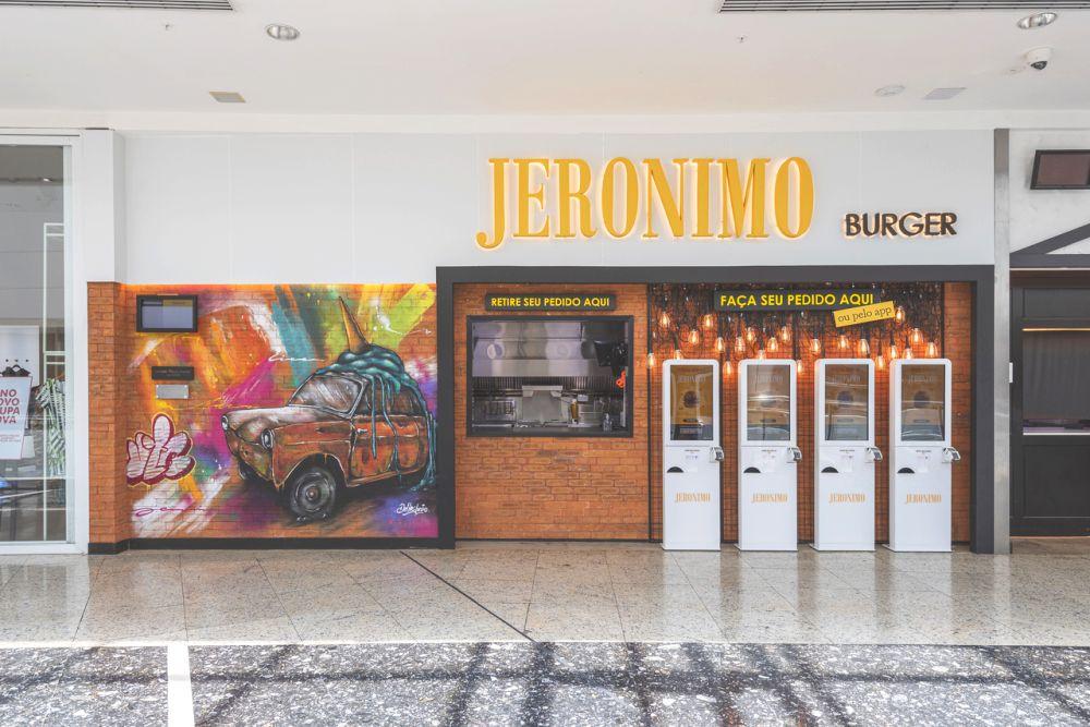 Novo Jerônimo no Shopping Palladium, em Curitiba, onde antes funcionava o Dundee Burgers. Foto: Fernando Zequinão/Gazeta do Povo.