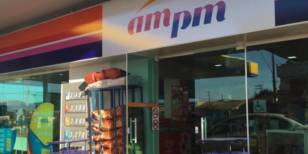 As lojas AM/PM funcionam junto dos postos de combustíveis da rede Ipiranga. Foto: reprodução Facebook.