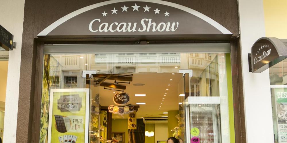 Uma das franquias mais em conta do país, a Cacau Show está aberta há mais de 30 anos. Foto: Marcelo Andrade/Gazeta do Povo.