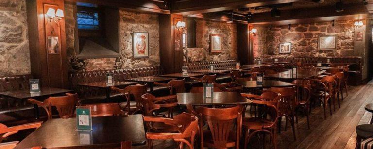 Salão do pub The Basement. Foto: Divulgação
