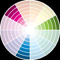 """Tríades: É a harmonia entre três cores diferentes (na foto, projeto da arquiteta Beatriz Empinotti e Claudia Dias), equidistantes no círculo das cores. """"Elas combinam pois têm origem nas três cores primárias – amarelo,  azul e vermelho"""", explica Henning. Para ele, é preciso compor tons que tenham a mesma intensidade de iluminação, para que um não se sobressaia aos outros."""