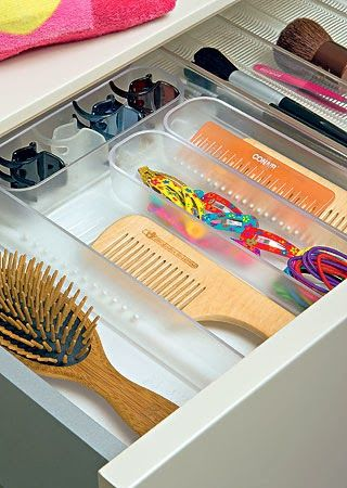 Aprenda a organizar qualquer tipo de gaveta