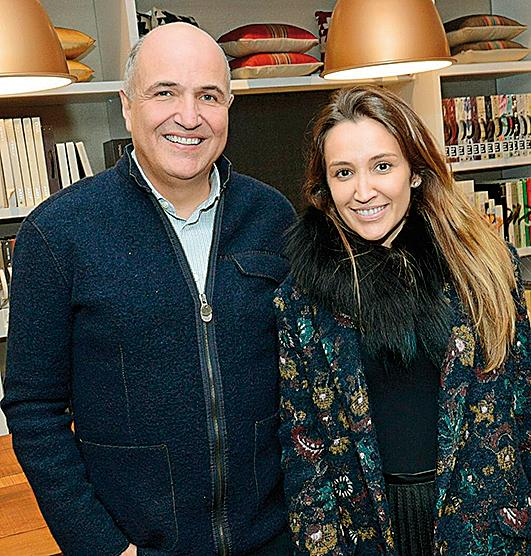 Jayme Bernardo e Priscila Müller.  Foto: Divulgação.