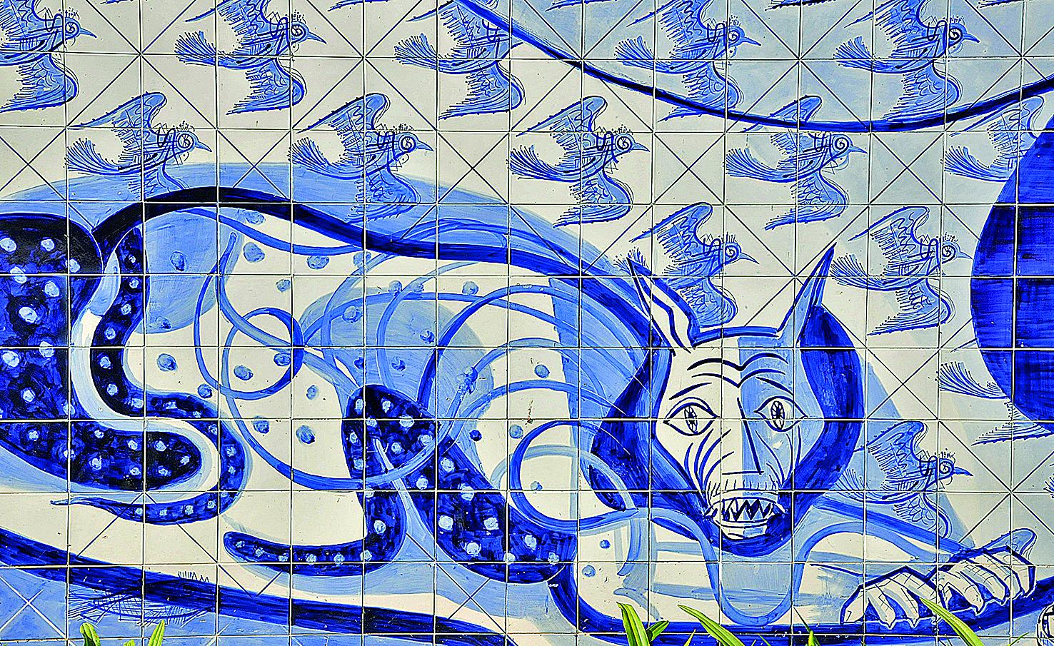 A reinvenção do azulejo no Brasil