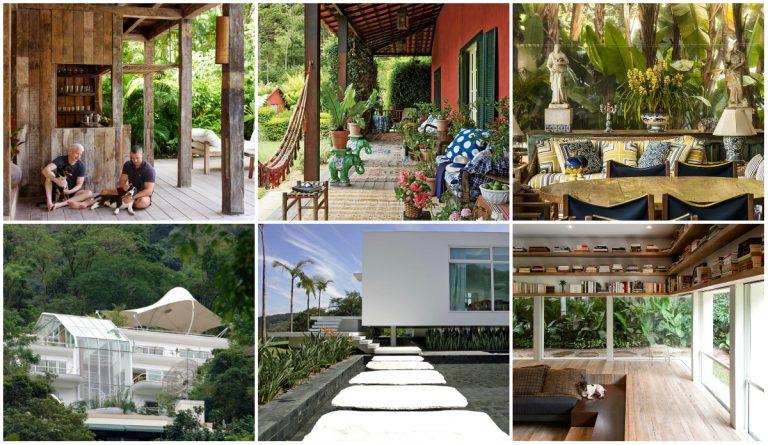 Saiba quais são as seis casas mais incríveis do Brasil
