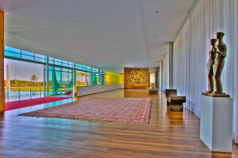 Brasília-DF, 21/07/2011. Fachada e interior do Palácio da Alvorada. Foto: Ichiro Guerra/PR.
