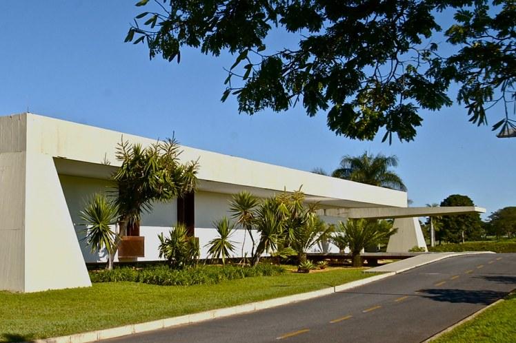 Fachada do Palácio Jaburu.  Foto: Aluízio de Assis / Divulgação