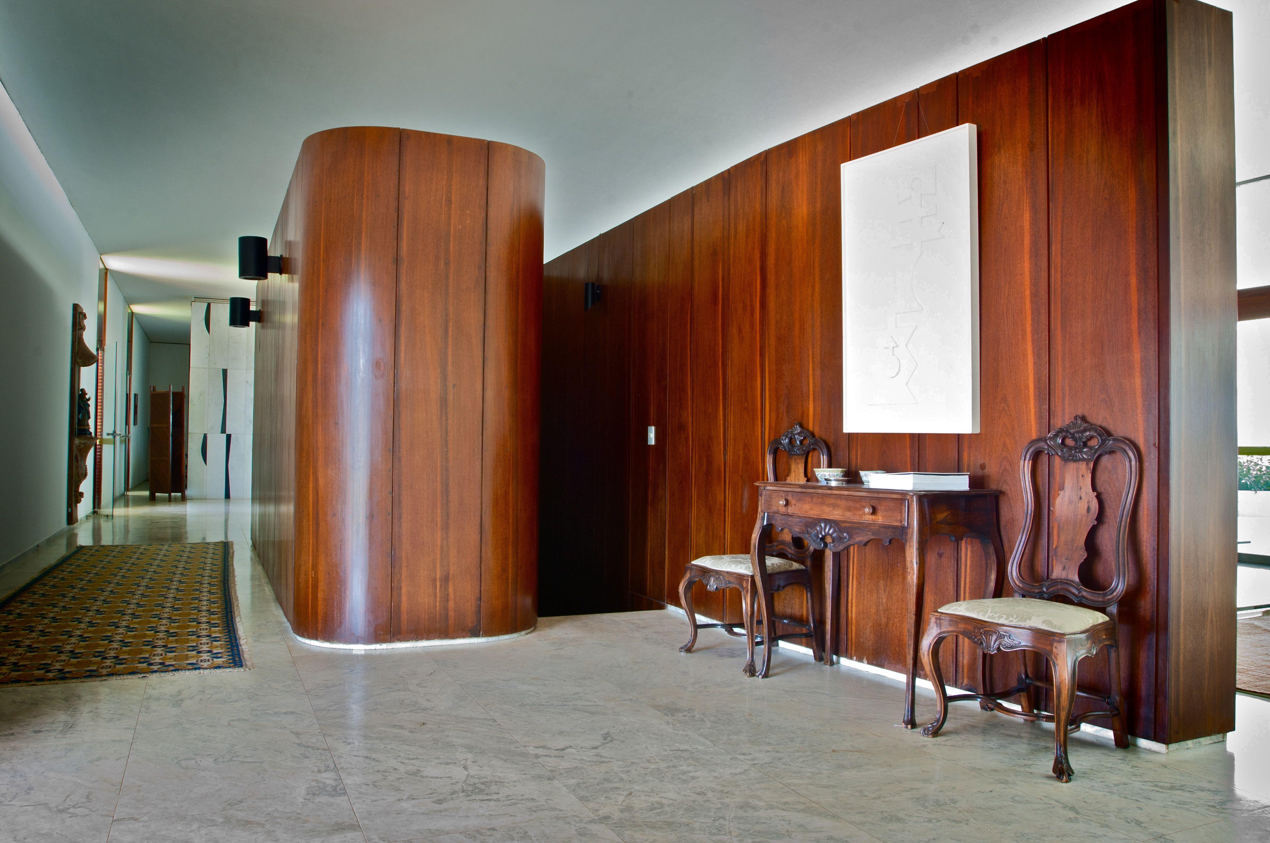 Detalhe do hall do Palácio Jaburu. Foto: Aluízio de Assis / Divulgação.