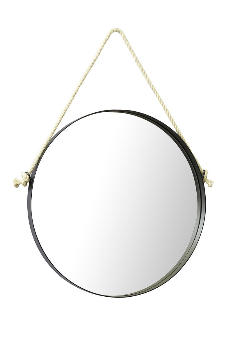 Fotos do produto Espelho Han em Corda Natural da arquiteta Romy Schneider para o Rota HAUS. Local: Black Home Design. Av. Manoel Ribas, 4824, loja 1 - Santa Felicidade.