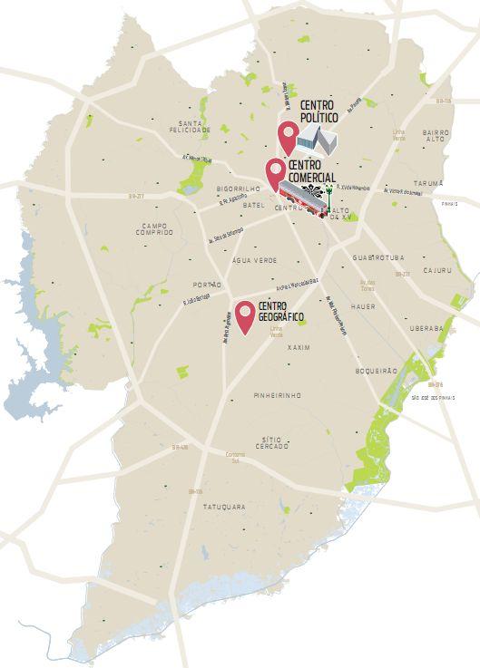 """Conheça o """"verdadeiro"""" Centro de Curitiba, longe do burburinho da XV"""