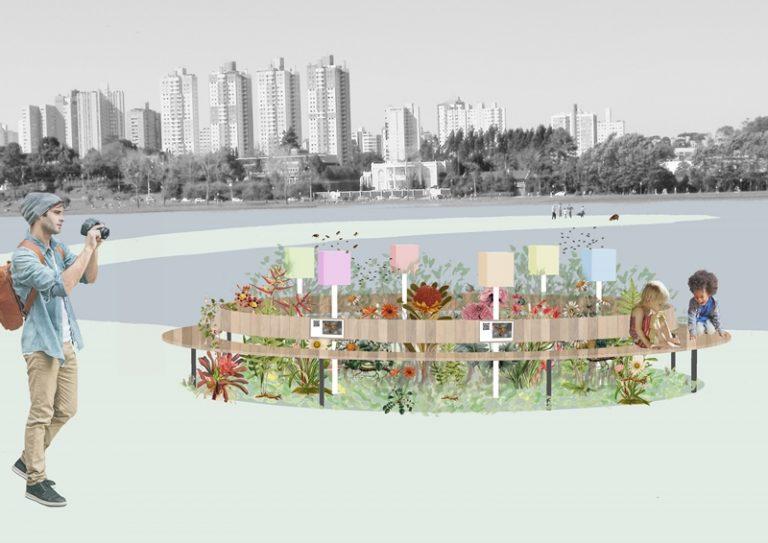 15 parques da cidade vão receber jardins de mel ainda este ano. Fotos: Divulgação