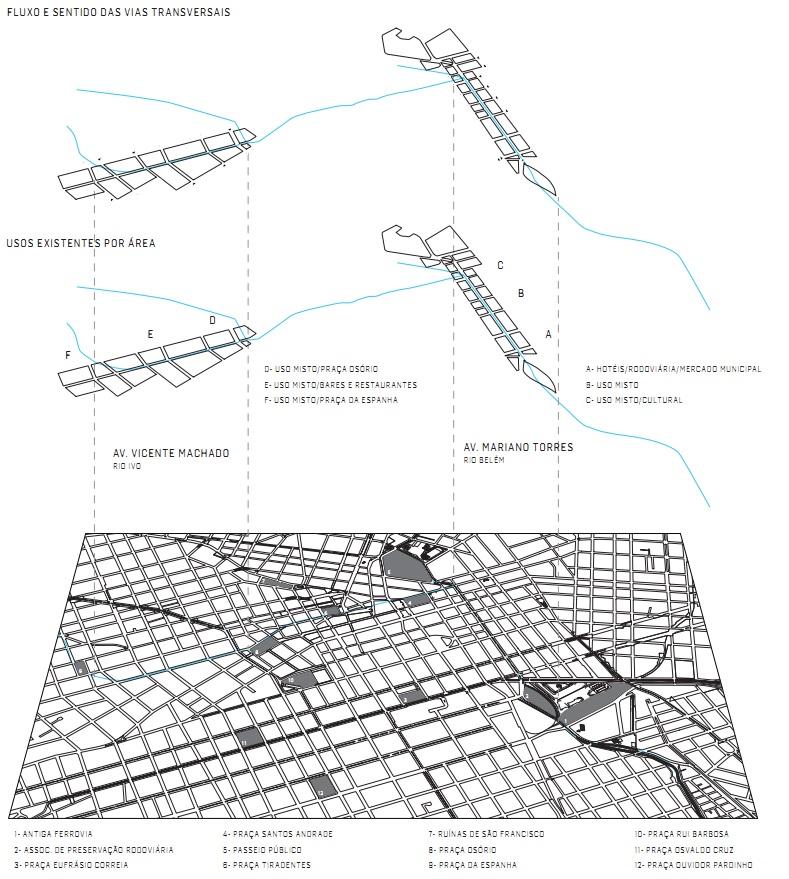 Arquitetos propõem reabertura de rios canalizados de Curitiba