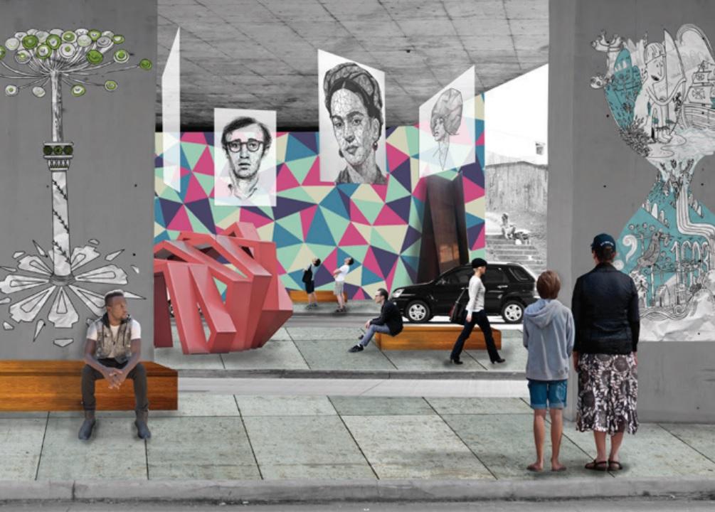 Praças e viadutos abandonados de Curitiba podem virar espaços de arte e lazer