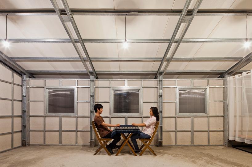 Casa pré-moldada projetada por arquiteto vietnamita custa menos de R$ 5 mil e pode ajudar a dar conforto para famílias que não têm condições de construir nos moldes tradicionais.  Foto: Divulgação