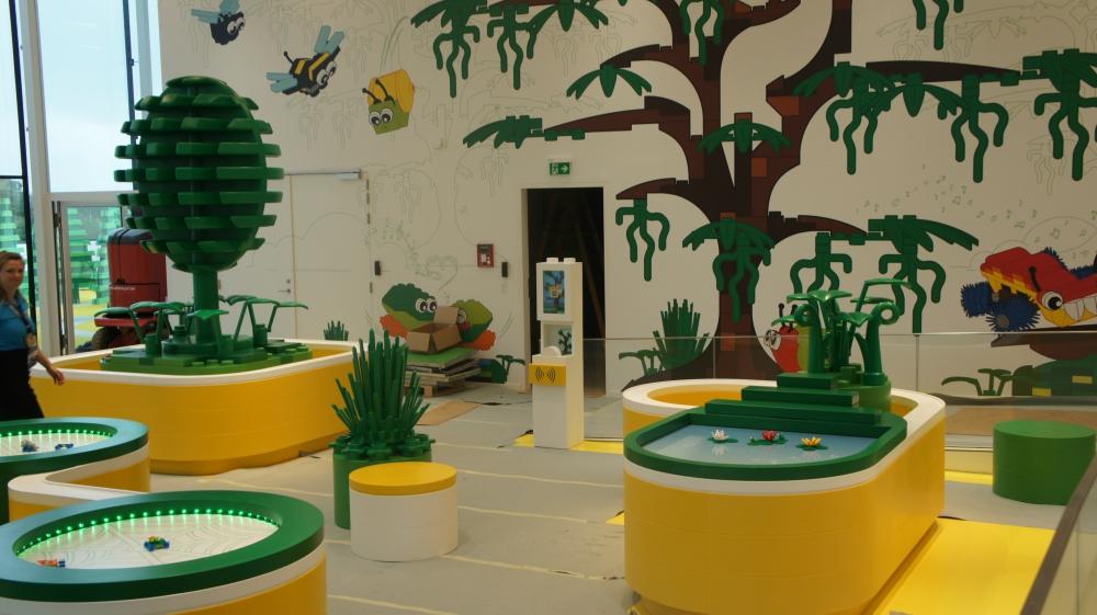 A zona amarela. Foto: reprodução / LEGO.