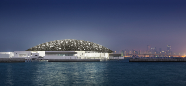 Louvre Abu Dhabi. Foto: Divulgação