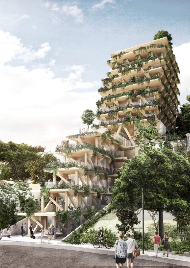 Edifício feito 100% em madeira vai dar cara nova a bairro de São Paulo