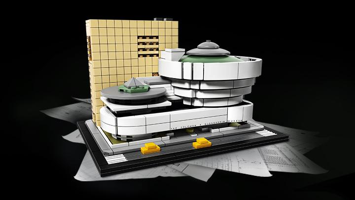 Museu Solomon R. Guggenheim. Foto: Divulgação/Lego