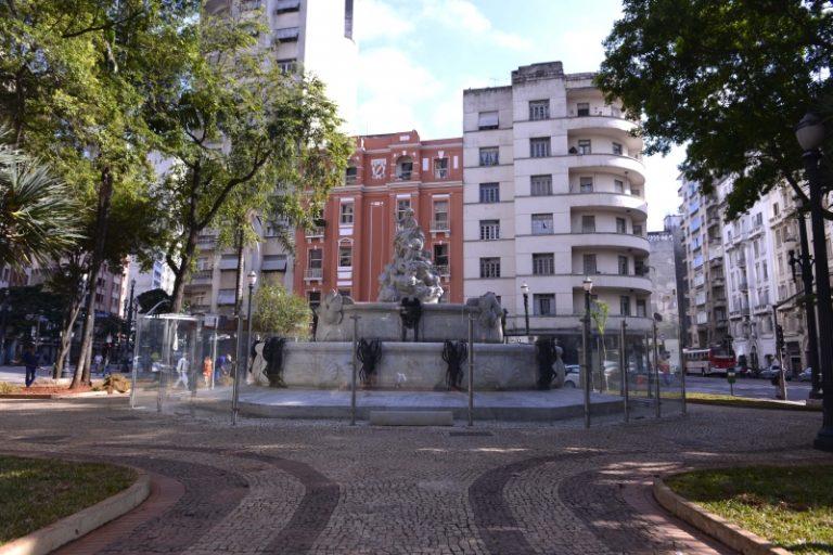 Imóvel voltado à locação social tem vista para a Praça Júlio de Mesquita, no centro de São Paulo. Foto: Eduado Ogata / Prefeitura de São Paulo.