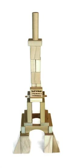 Torre Eiffel Finalizada. Foto: Divulgação/Back to Blocks