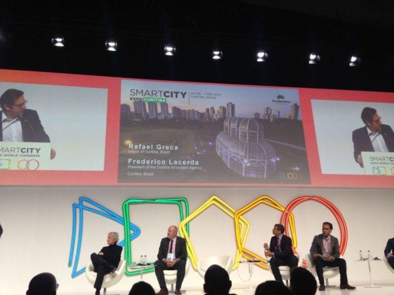 Frederico Lacerda apresentou o Smart City Expo Curitiba 2018 em novembro. Foto: Divulgação