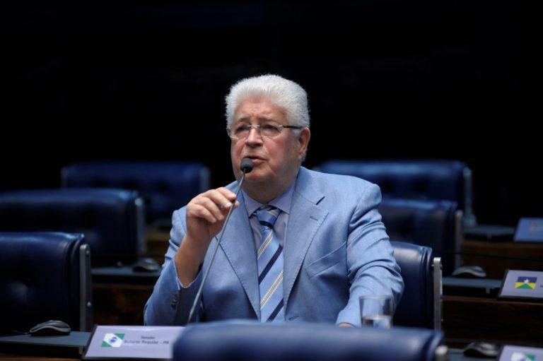 Senador Roberto Requião é a favor do Parque Bom Retiro. Foto: Pedro França/Agência Senado