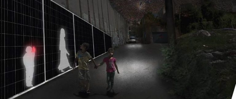 Conflito entre Israel e Palestina foi mote dos estudantes para o projeto vencedor. Foto: Divulgação