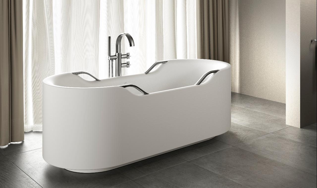7 novos revestimentos e peças para banheiro assinados por grandes nomes do design