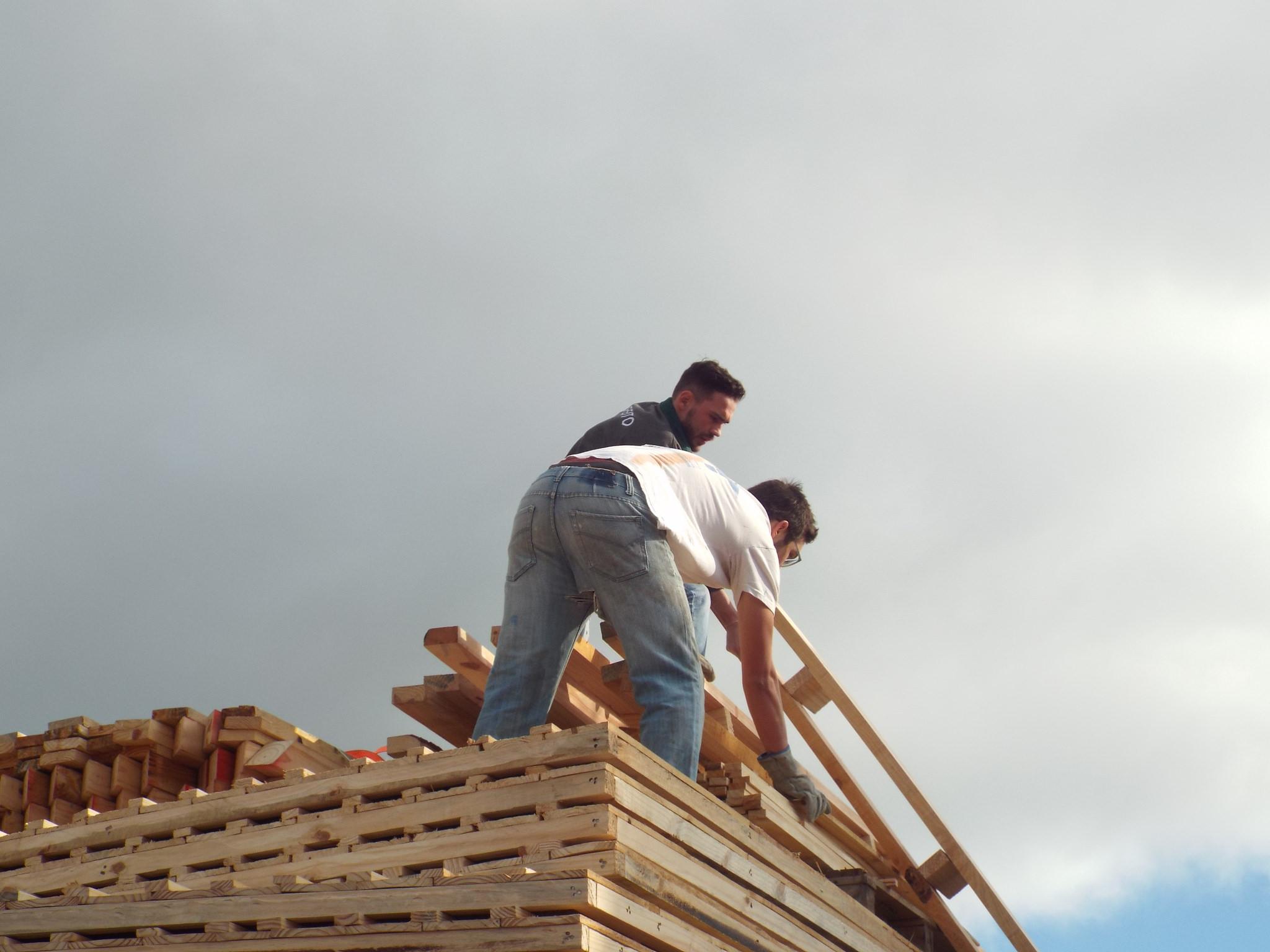Fase de logística na comunidade A Favorita, em Araucária. Foto: Flickr/Comunicação TETO PR