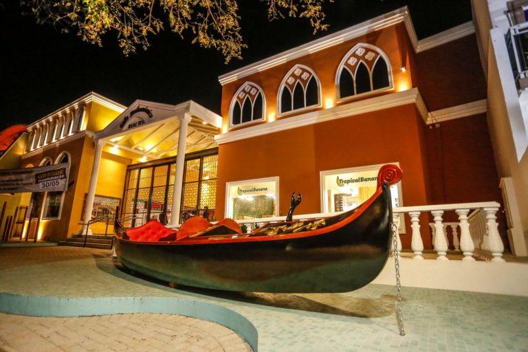 Nova vila gastronômica em Santa Felicidade traz 17 operações com ambiente todo inspirado em Veneza, na Itália. Foto: divulgação
