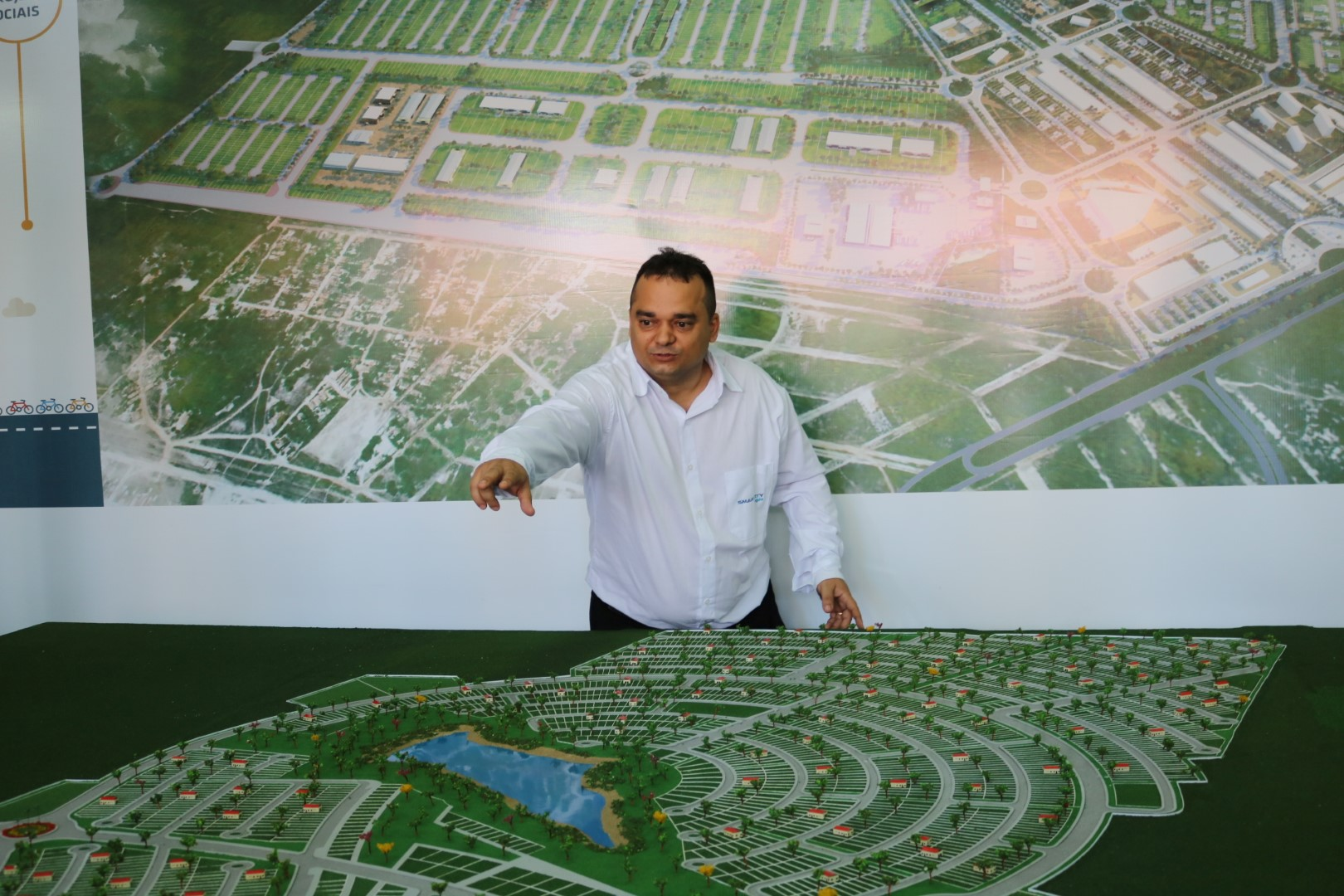 Guethner Gadelha Wirtzbiki, gerente de vendas da Smart City Laguna.