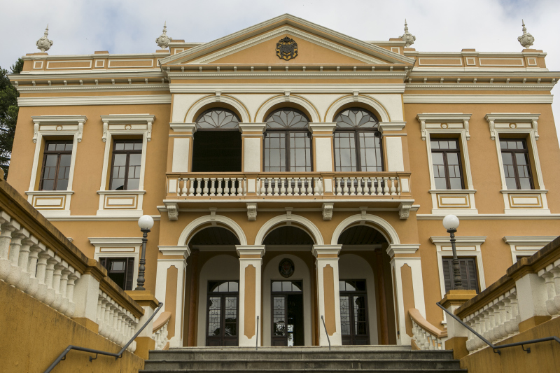 O Palácio Garibaldi ficou pronto em 1904. Foto: Marcelo Andrade/ Gazeta do Povo