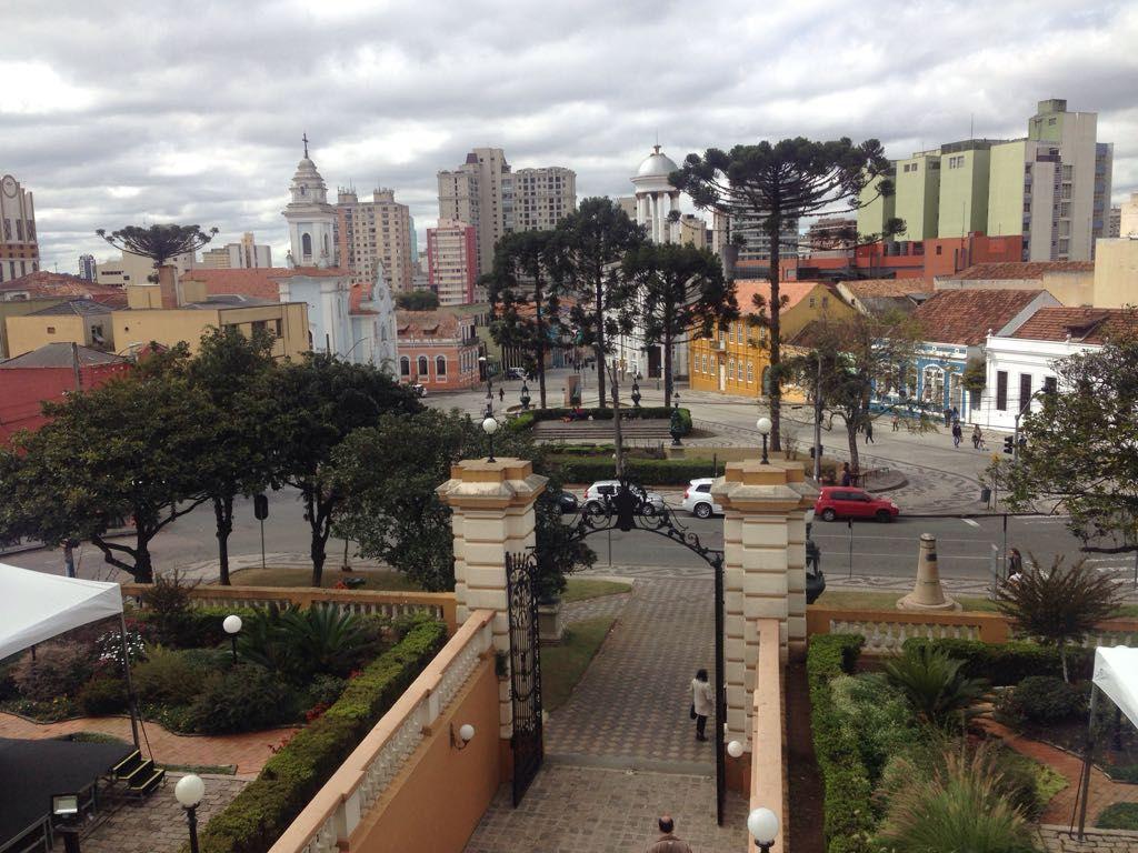 Do balcão é possível ver parte da cidade. Foto: Priscila Bueno/ Gazeta do Povo