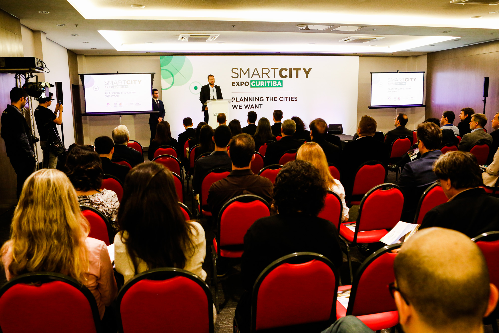 Lançamento da Smart City Expo Curitiba 2019. Foto: Divulgação