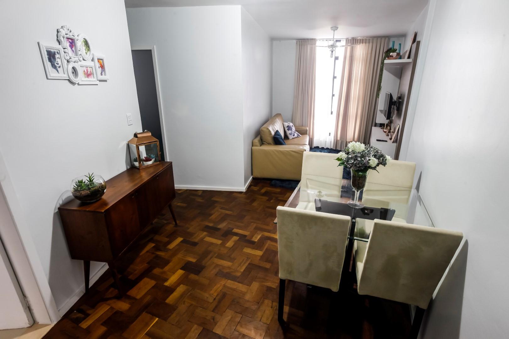 Foto interna do Condomínio Cruzeiro do Sul.  Foto: André Rodrigues / Gazeta do Povo