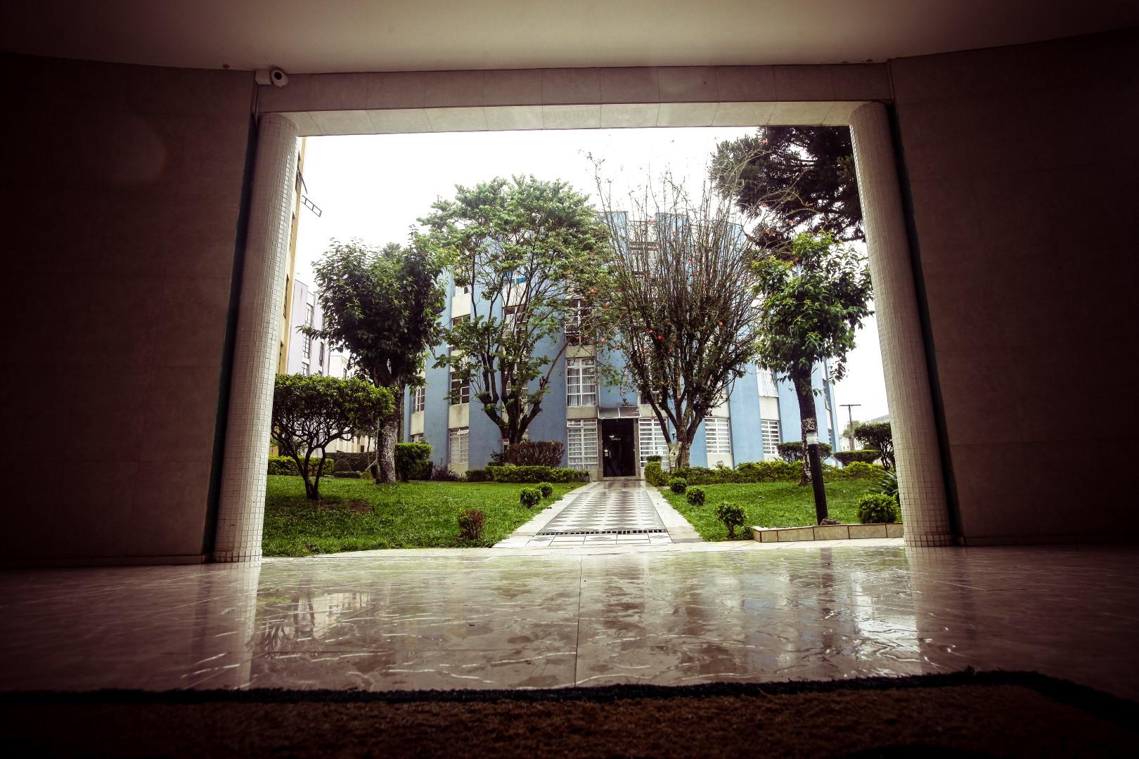 Detalhe do condomínio Cruzeiro do Sul.  Foto: André Rodrigues / Gazeta do Povo