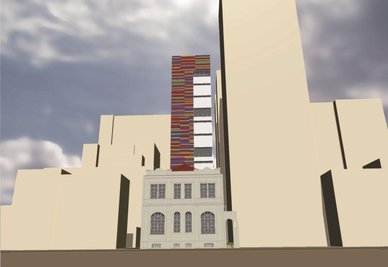 Perspectiva do projeto de restauro e ampliação. Imagem: Meta Arquitetura/Divulgação