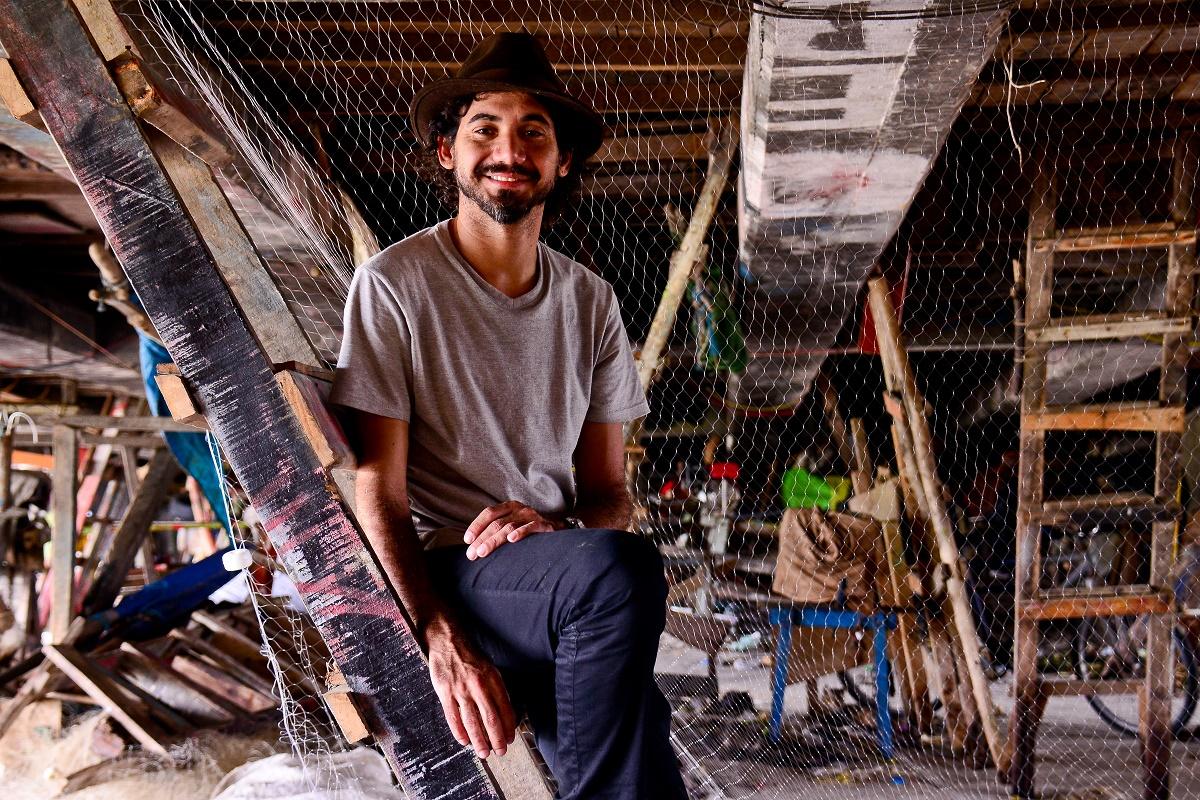 O artista Eduardo Kobra é eleito personalidade do ano de 2018 em Nova York. Foto: Eduardo Kobra/Arquivo pessoal/Divulgação