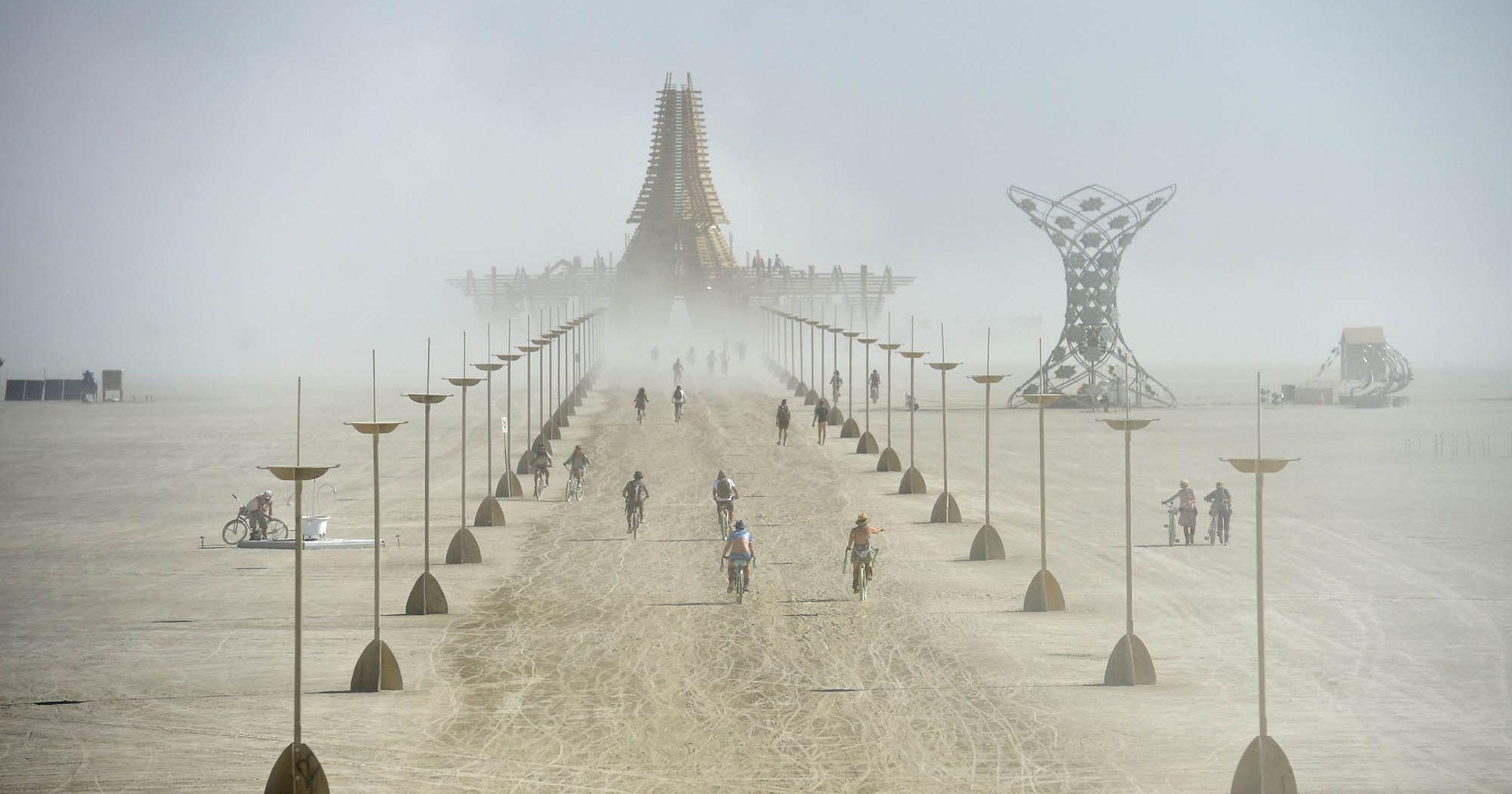 Além do Brasil, outros x países recebem suas próprias versões do Burning Man. Foto: divulgação