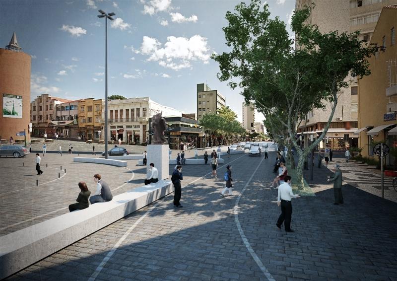 Projeto Diversidade, do Estúdio 41, propõe uma Curitiba mais amigável ao pedestre. Imagem: Divulgação