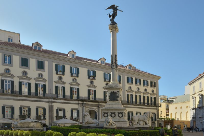 A Piazza Dei Martiri é outra locação da história. Foto: Wolfgang Moroder/ Wikimedia Commons