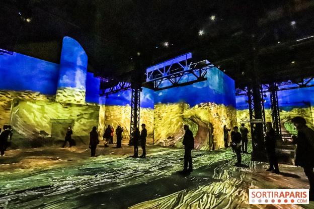 """Exposição em Paris faz visitante """"entrar"""" em obras de Van Gogh"""